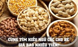 bột ngũ cốc dinh dưỡng cho bé giá bao nhiêu tiền