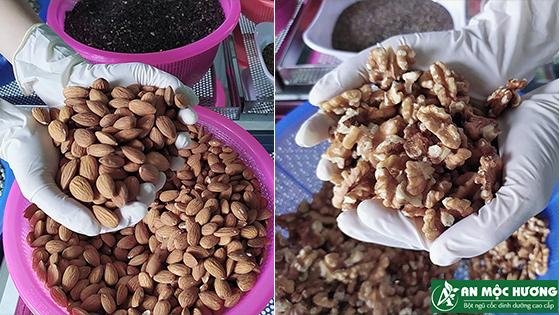 ngũ cốc bà bầu An Mộc Hương 21 loại hạt