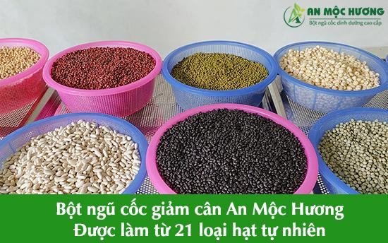 bột ngũ cốc giảm cân An Mộc Hương
