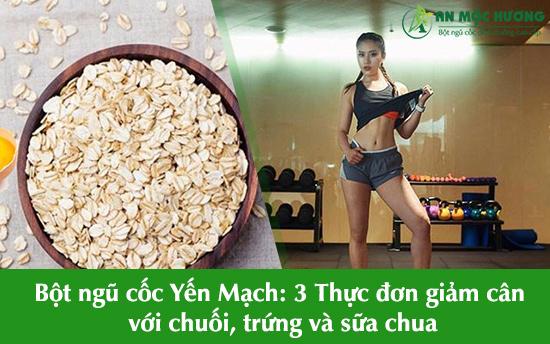 bột ngũ cốc yến mạch giảm cân