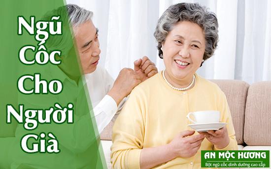bột ngũ cốc giúp tăng cường sức khoẻ cho người cao tuổi