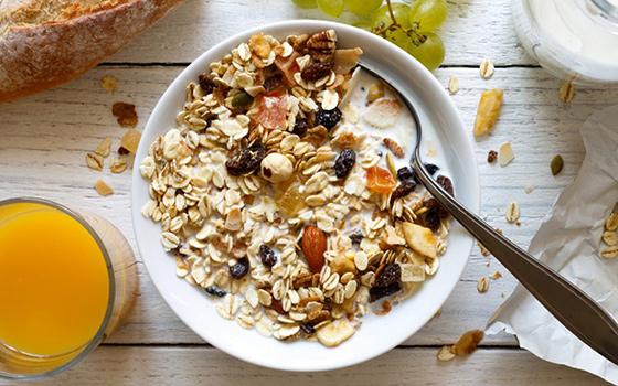 hạt granola