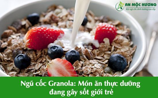 ngũ cốc granola