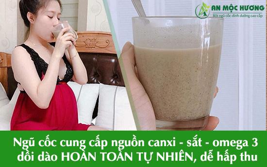 Cung cấp nguồn canxi - sắt - omega 3 dồi dào HOÀN TOÀN TỰ NHIÊN, dễ hấp thu.