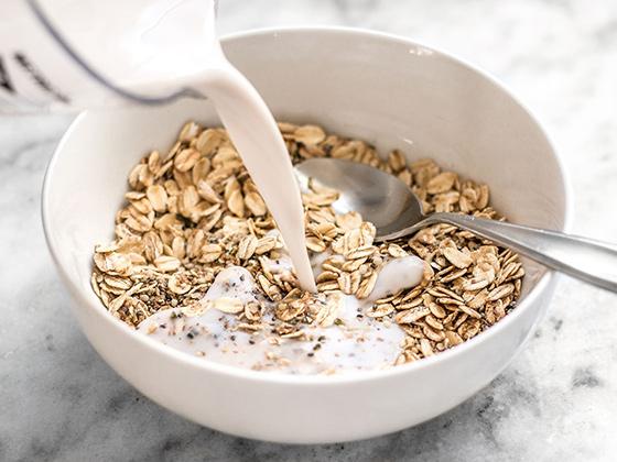 yến mạch granola