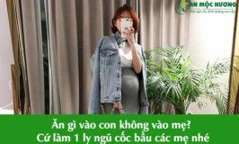 an gi vao con khong vao me