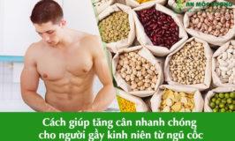 cách giúp tăng cân nhanh chóng
