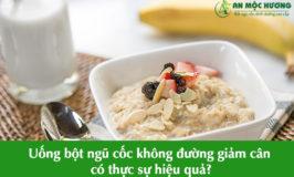 giảm cân bằng ngũ cốc