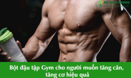 bột đậu tập gym