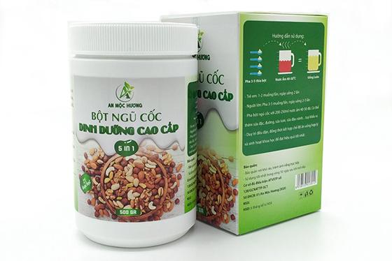 bột ngũ cốc dinh dưỡng cao cấp an mộc hương