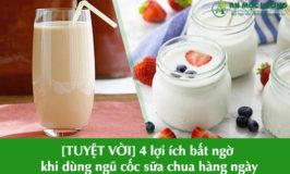 lợi ích khi dùng ngũ cốc sữa chua