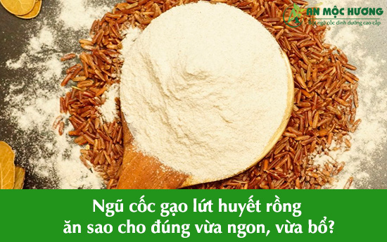 ngũ cốc gạo lứt