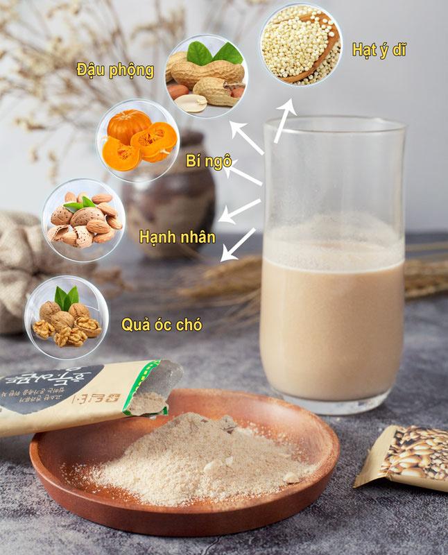 thành phần bột ngũ cốc hàn quốc