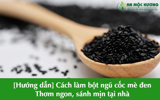 bột ngũ cốc mè đen
