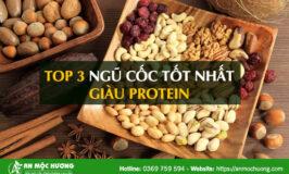 top ngũ cốc giàu protein