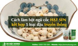 bột ngũ cốc hạt sen