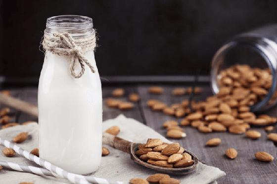 cách làm sữa hạt hạnh nhân cho bé