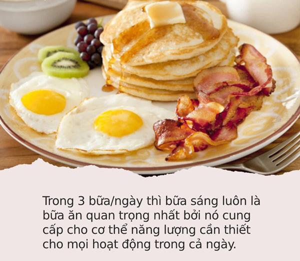 ăn gì vào bữa sáng để tăng cân